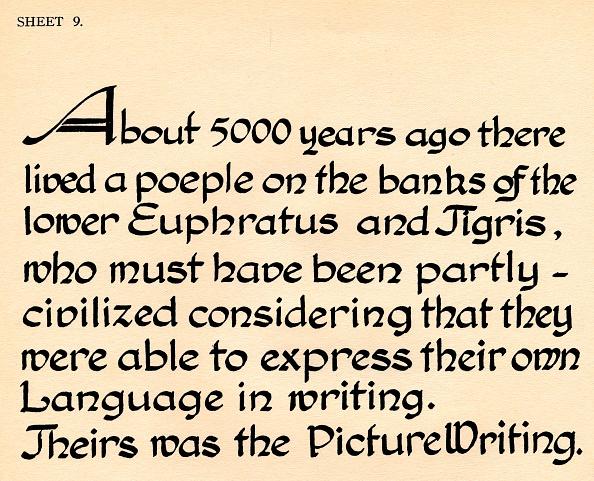 Manufacturing Equipment「Sheet 9 from a portfolio of alphabets 1929」:写真・画像(18)[壁紙.com]