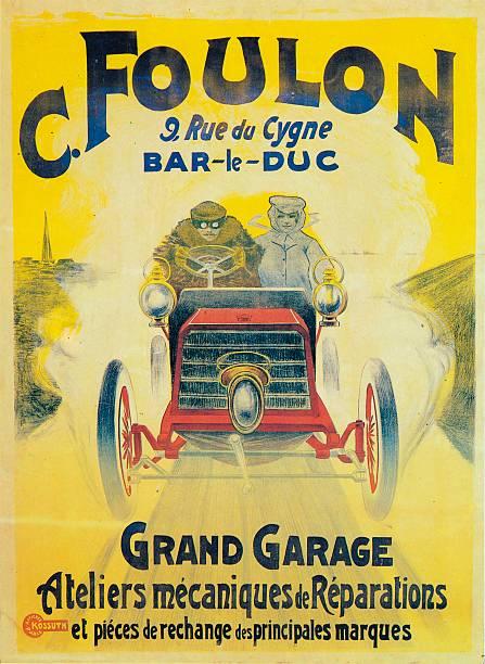 Advertisement for C Foulons Garage Bar-le-Duc France c 1900:ニュース(壁紙.com)