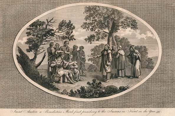 Preacher「St Augustine a Benedictine monk first preaching to the Saxons in Kent 597 (1793)」:写真・画像(14)[壁紙.com]