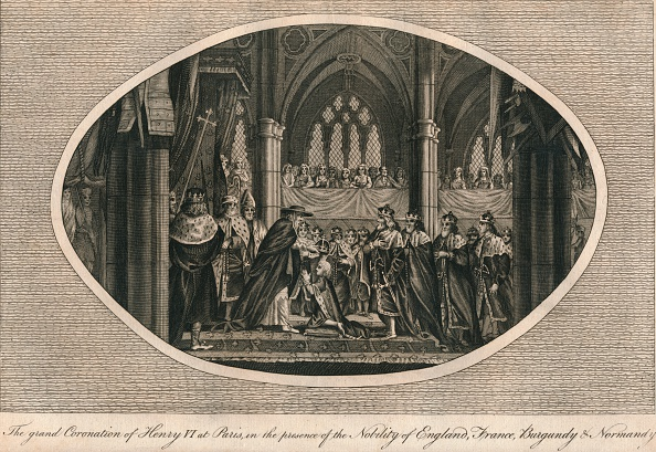 Circa 15th Century「The grand coronation of Henry VI of England in Paris 1431 (1793)」:写真・画像(18)[壁紙.com]