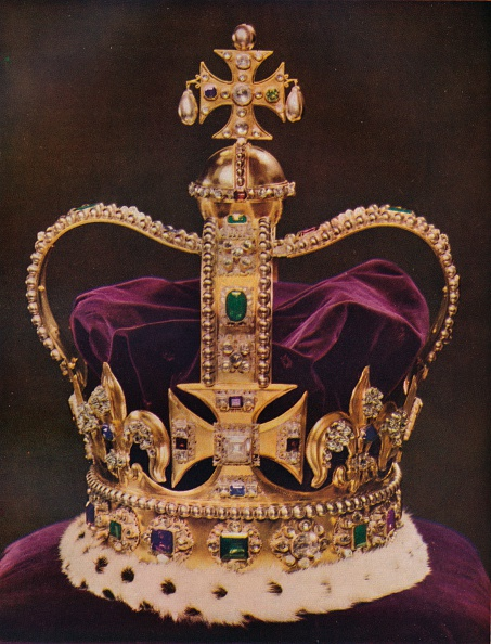 Jewelry「The Crown of England St Edwards Crown c 1937」:写真・画像(14)[壁紙.com]