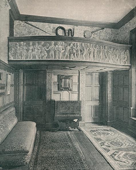 Bench「Music Gallery with scuplture c 1893」:写真・画像(8)[壁紙.com]