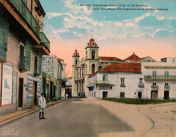 Church「Calle Empedrado Old Havana Cuba c 1920」:写真・画像(11)[壁紙.com]
