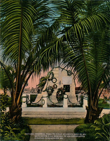 20-29 Years「Monument to Cuban medical students executed by the Spanish in 1871 Havana Cuba c 1920」:写真・画像(17)[壁紙.com]