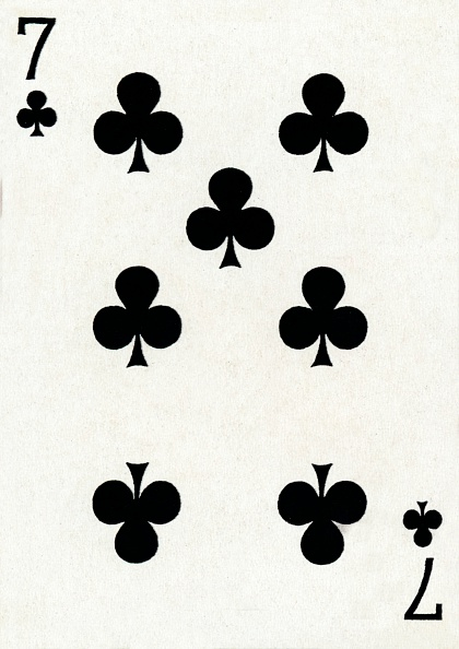 20th Century Style「7 of Clubs from a deck of Goodall & Son Ltd」:写真・画像(17)[壁紙.com]