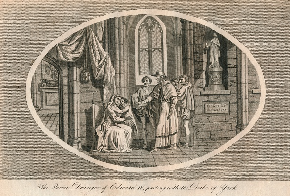 Mourner「The Queen Dowager of Edward IV parting with her son the Duke of York 1483 (1793)」:写真・画像(2)[壁紙.com]