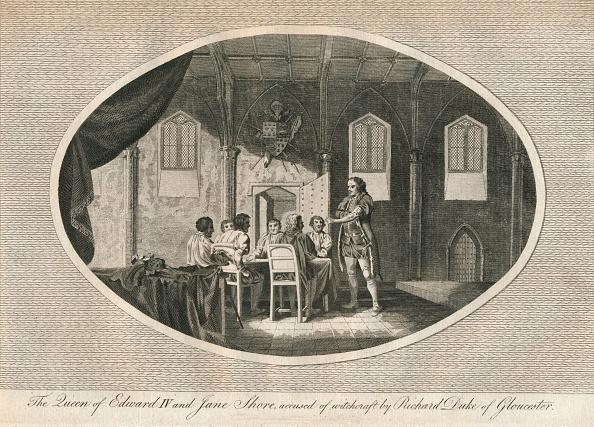 Circa 15th Century「Elizabeth Woodville and Jane Shore accused by Richard Duke of Gloucester 1483 (1793)」:写真・画像(17)[壁紙.com]