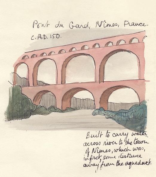 Languedoc-Rousillon「Pont Du Gard」:写真・画像(19)[壁紙.com]