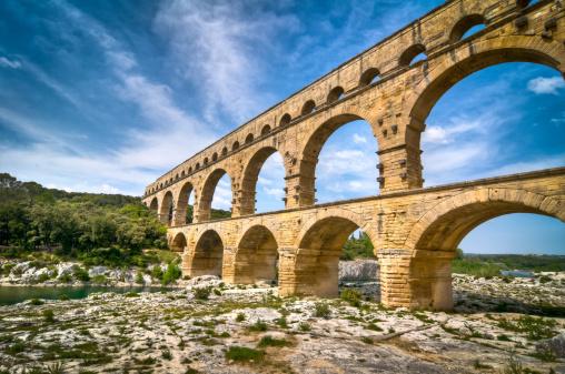 Ancient Civilization「Pont du Gard, Provence, France」:スマホ壁紙(0)