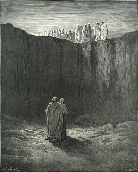 Circa 14th Century「Dante's purgatory」:写真・画像(6)[壁紙.com]