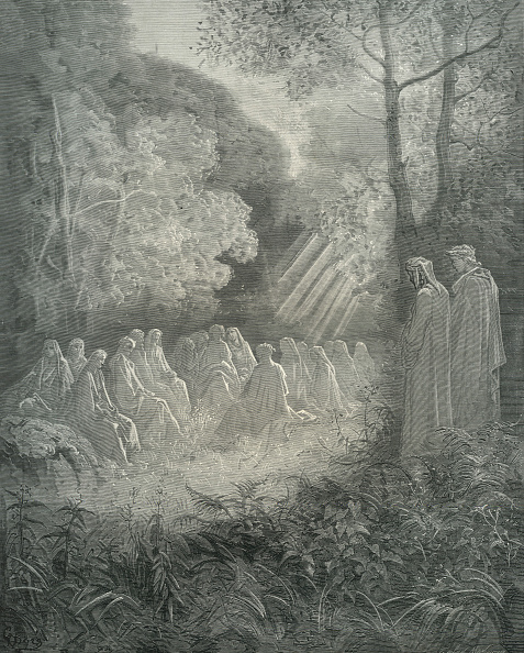 Circa 14th Century「Dante's purgatory」:写真・画像(8)[壁紙.com]