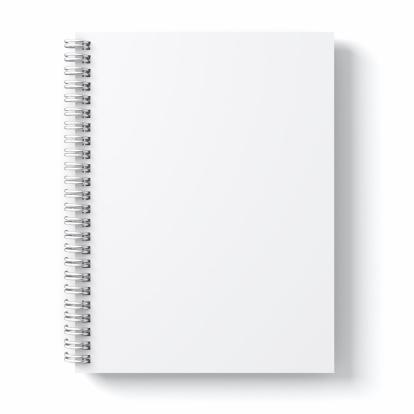 余白「白紙のスケッチブック」:スマホ壁紙(10)