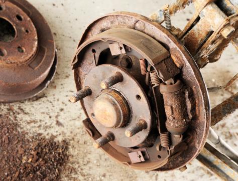 Restoring「Rusty drum brake」:スマホ壁紙(15)