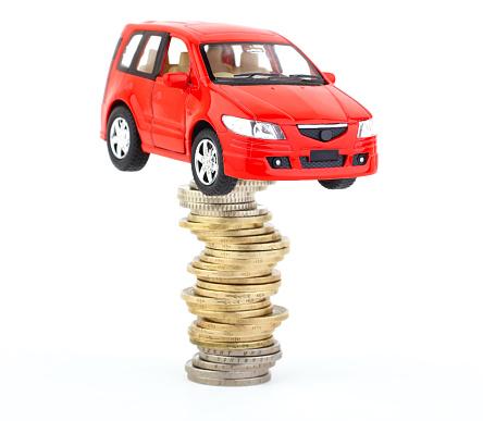 Work luck「Car and money」:スマホ壁紙(1)