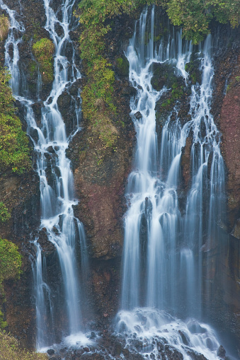 Nikko City「Autumn View of Kegon Falls in Nikko, Japan」:スマホ壁紙(1)