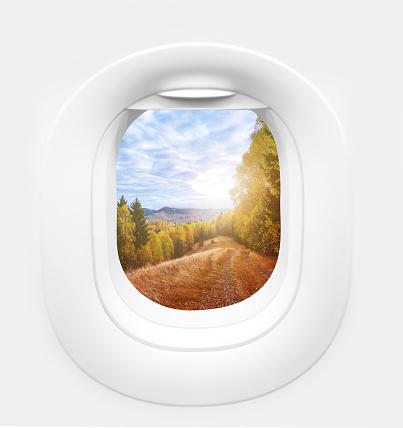 Airplane「autumn view」:スマホ壁紙(19)
