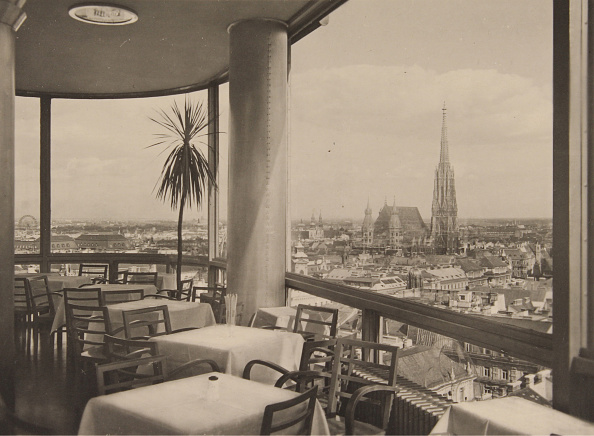 Gazebo「 View From The Restaurant Of The Tower (Built 1931-32) In The Herrngasse」:写真・画像(9)[壁紙.com]