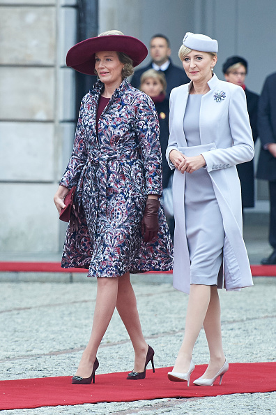 Glove「King Philippe And Queen Mathilde Visit Poland」:写真・画像(11)[壁紙.com]