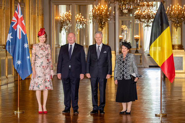 Capital Region「Sir Peter Cosgrove, Governor General Of The Commonwealth of Australia On Ofiicial Visit In Belgium」:写真・画像(1)[壁紙.com]