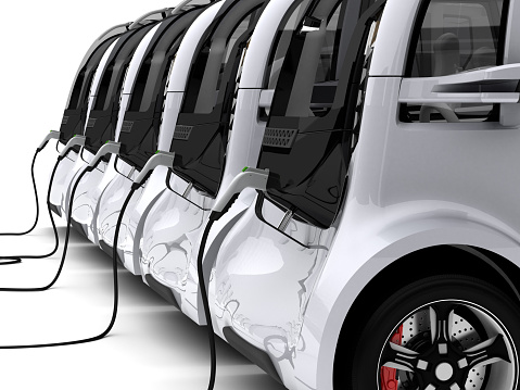 Mode of Transport「Charging Electric Cars」:スマホ壁紙(11)