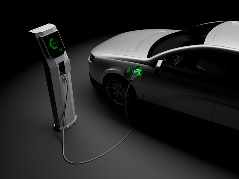 Land Vehicle「Charging Electric Cars」:スマホ壁紙(6)