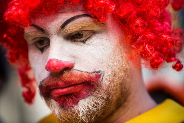 Fast Food「McDonald's Workers, Activists Protest McDonald's Labor Practices」:写真・画像(8)[壁紙.com]