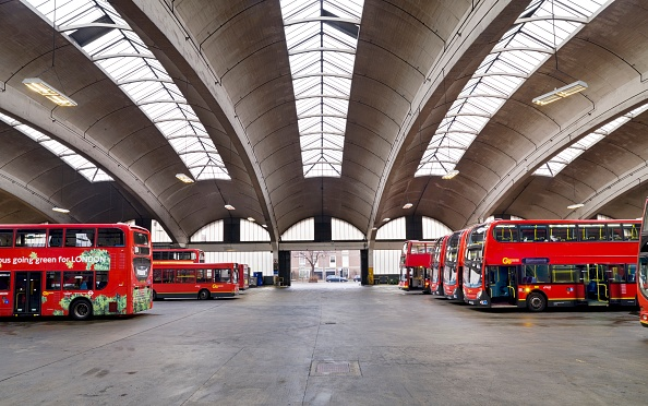 Bus「Stockwell Bus Garage」:写真・画像(11)[壁紙.com]
