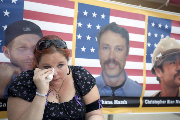 Environmental Damage「Memorial Service Honors 19 Elite Firefighters Killed In Arizona Wildfire」:写真・画像(7)[壁紙.com]
