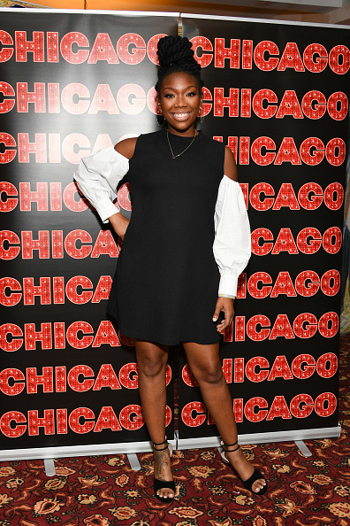 到着「Brandy Norwood Returns To Broadway's 'Chicago'」:写真・画像(14)[壁紙.com]