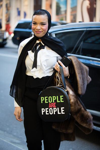 ストリートスナップ「Street Style - New York Fashion Week February 2019 - Day 3」:写真・画像(11)[壁紙.com]