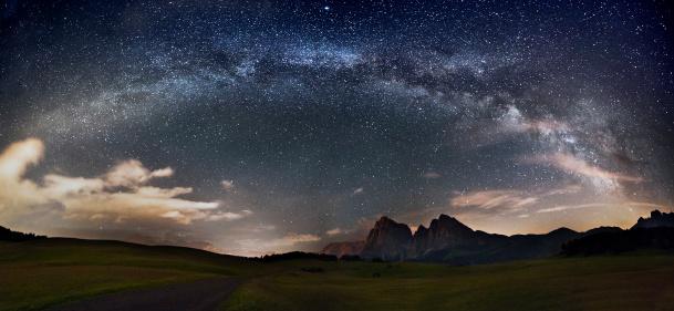 Spirituality「Stars over the mountains」:スマホ壁紙(19)