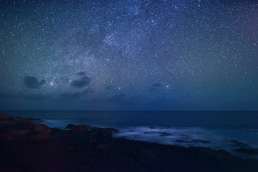 Hawaii Islands「Stars over the Pacific Ocean.」:スマホ壁紙(5)