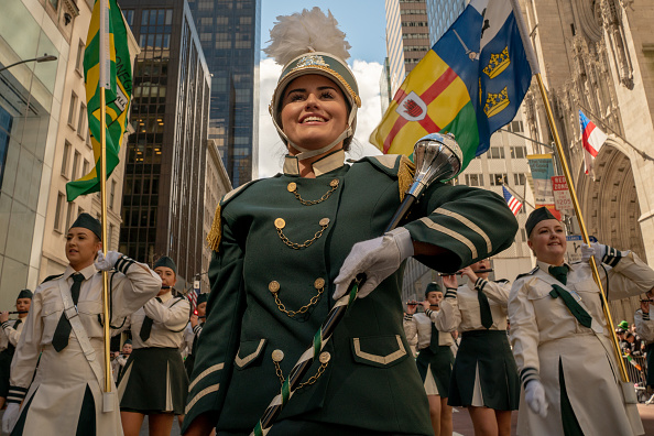 Parade「New York City's Annual St. Patrick's Day Parade Marches Up Fifth Avenue」:写真・画像(17)[壁紙.com]