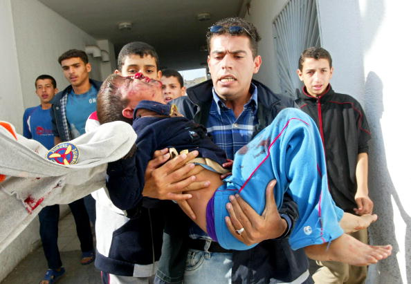 Abid Katib「Israeli shelling kills 18 in Beit Hanoun」:写真・画像(14)[壁紙.com]