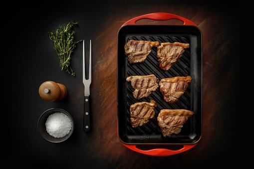 Pepper Mill「Meat: Lamb Chops Still Life」:スマホ壁紙(12)