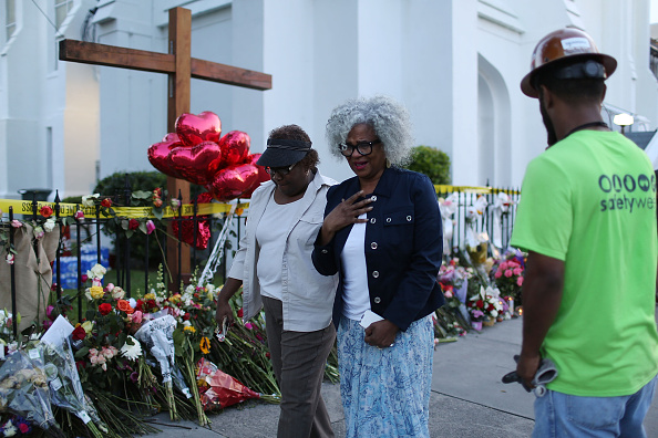 Emanuel AME Church - Charleston「Charleston In Mourning After 9 Killed In Church Massacre」:写真・画像(15)[壁紙.com]