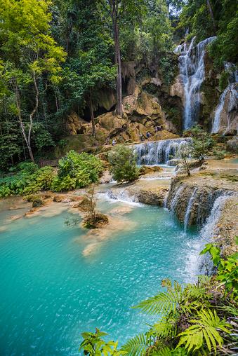 UNESCO「Kuang Si waterfall near Luang Prabang.」:スマホ壁紙(9)