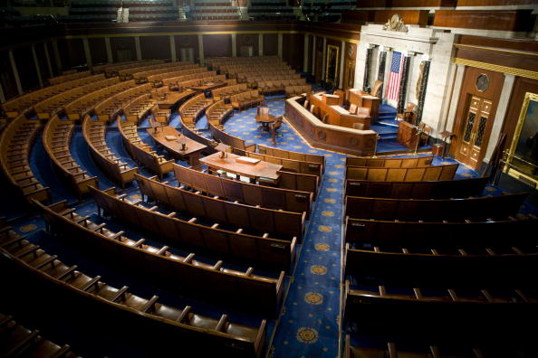 Empty「House Of Representatives Allows Media Rare View Of House Chamber」:写真・画像(1)[壁紙.com]