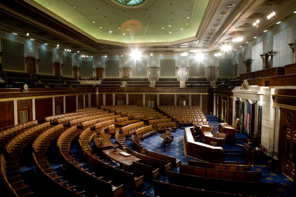 Empty「House Of Representatives Allows Media Rare View Of House Chamber」:写真・画像(14)[壁紙.com]
