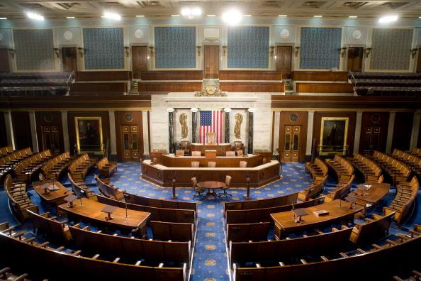 Empty「House Of Representatives Allows Media Rare View Of House Chamber」:写真・画像(3)[壁紙.com]