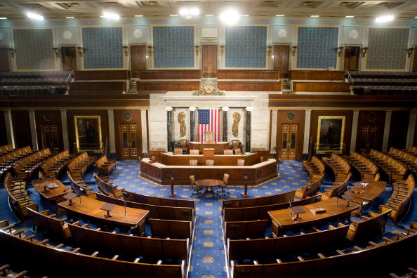 Empty「House Of Representatives Allows Media Rare View Of House Chamber」:写真・画像(2)[壁紙.com]