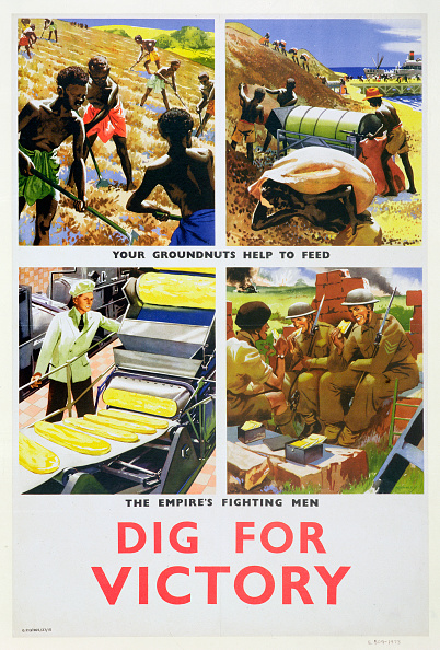 British Empire「Dig For Victory' Propaganda Poster For Britain's African Colonies circa 1940」:写真・画像(9)[壁紙.com]