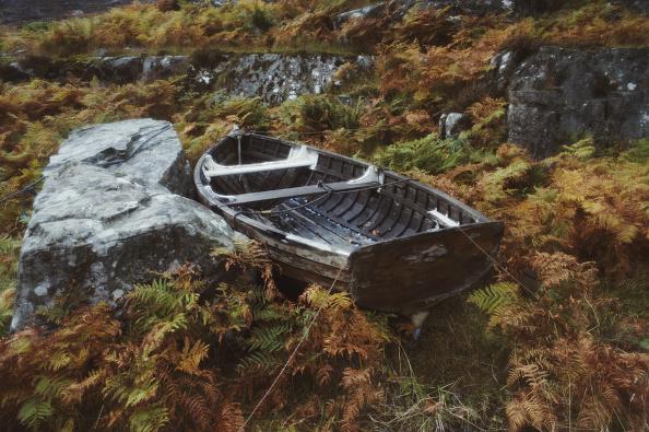 Rowing「Boat By Loch Torridon」:写真・画像(3)[壁紙.com]