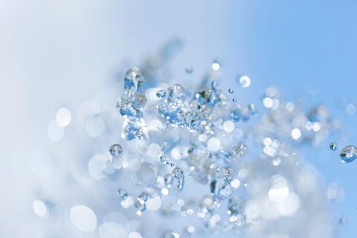 かえる「Water of Fountain Splashing」:スマホ壁紙(7)