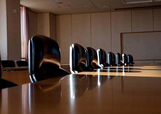 Empty boardroom:スマホ壁紙(壁紙.com)