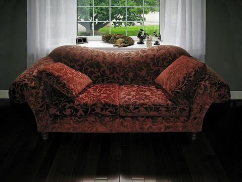 雑種のネコ「旧ソファーと寝室猫ます。旧 Vetta コレクション。」:スマホ壁紙(14)