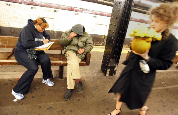 Homelessness「NYC Conducts City-Wide Census Of Homeless Persons」:写真・画像(3)[壁紙.com]