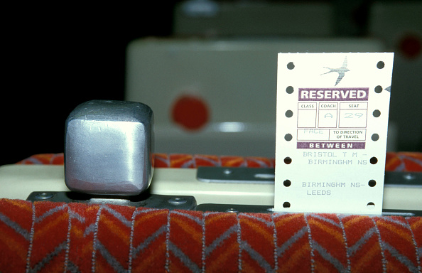 Shy「Reserved seat ticket in place on the back of the seat. C1993」:写真・画像(2)[壁紙.com]