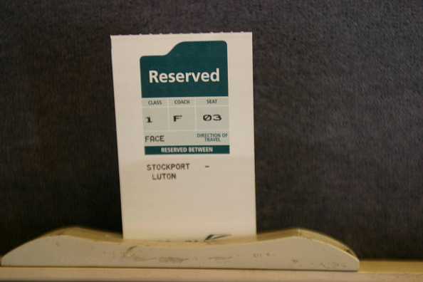 Finance and Economy「Reserved seat ticket on Midland Mainline. September 2004.」:写真・画像(12)[壁紙.com]