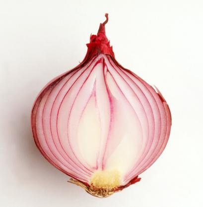 Onion「Red onion cut in half」:スマホ壁紙(14)